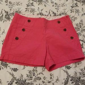 J Crew Shorts Pink City Fit